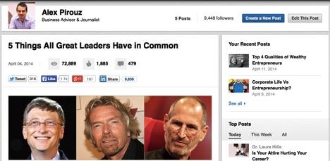 Publicar en LinkedIn