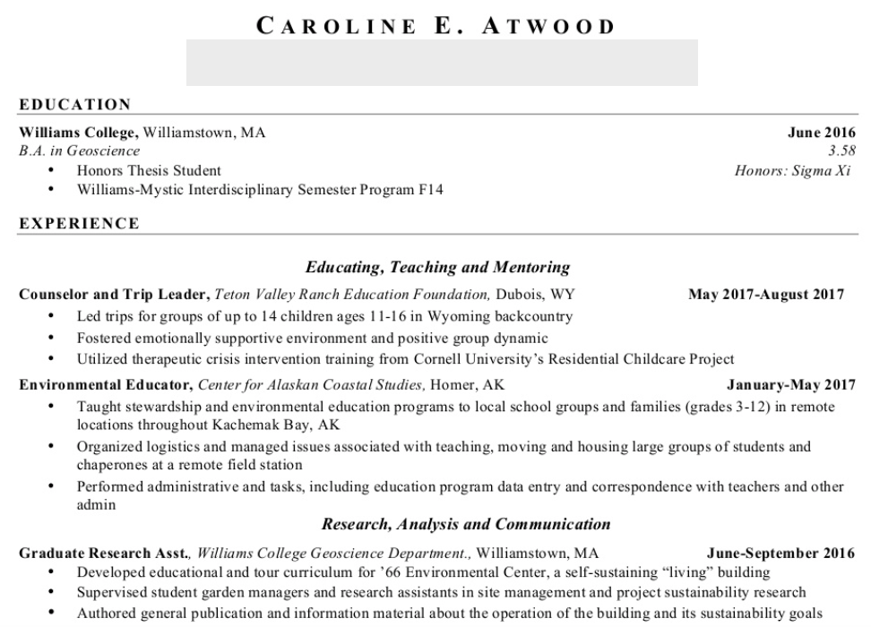Caroline Resume 3