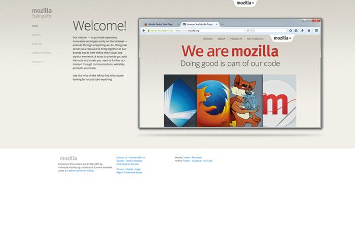 Mozilla Style Guide