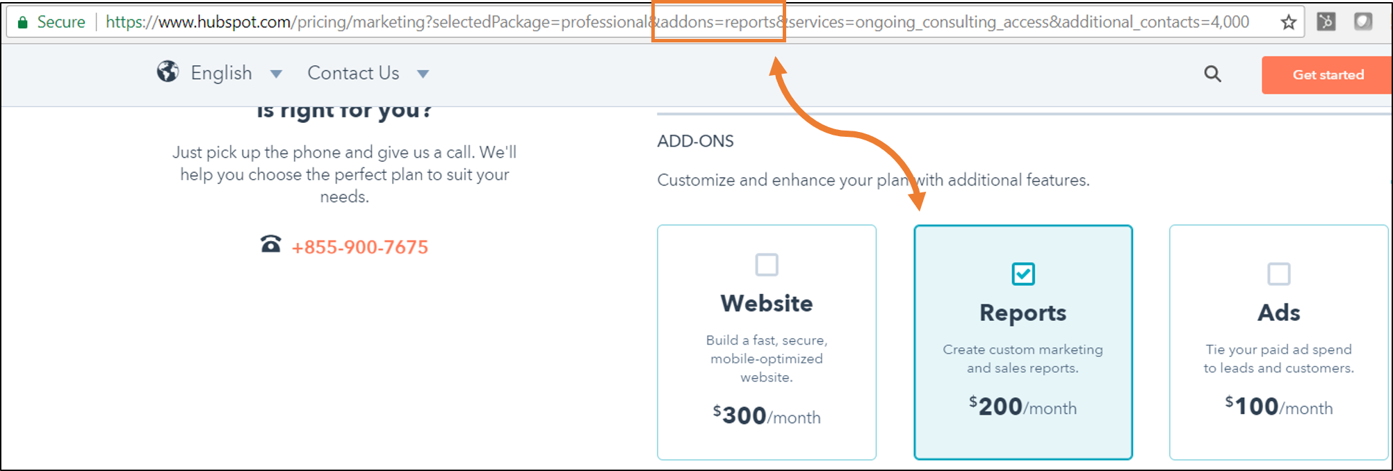 configuration-url.png  How HubSpot's Pricing Page Redesign Increased MQL Conversions by 165% & Free Sign-Ups by 89% configuration url