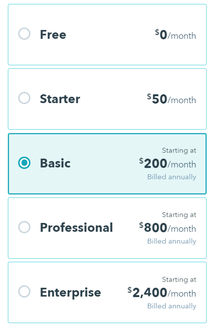 sku-nav.png  How HubSpot's Pricing Page Redesign Increased MQL Conversions by 165% & Free Sign-Ups by 89% sku nav
