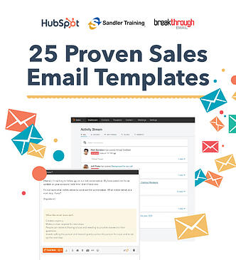 sales email templates