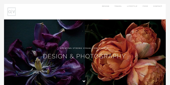 Gabrielle Vermeij Design uses the Avada theme for her design portfolio.