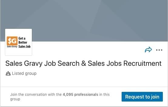 Sales Gravy Job Search & Sales Jobs Recruitment LinkedIn Group