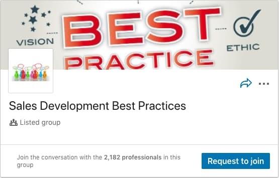 Sales Development Best Practices