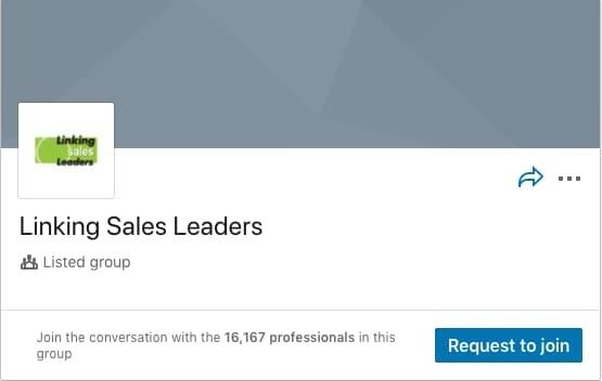 Linking Sales Leaders