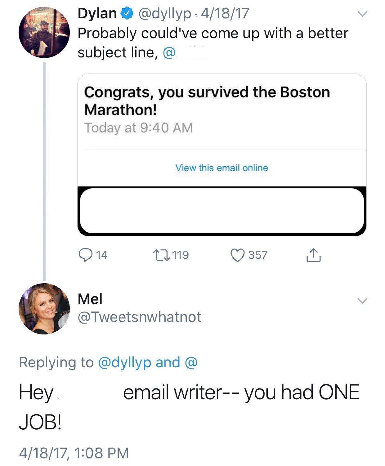 social media crisis examples: boston marathon