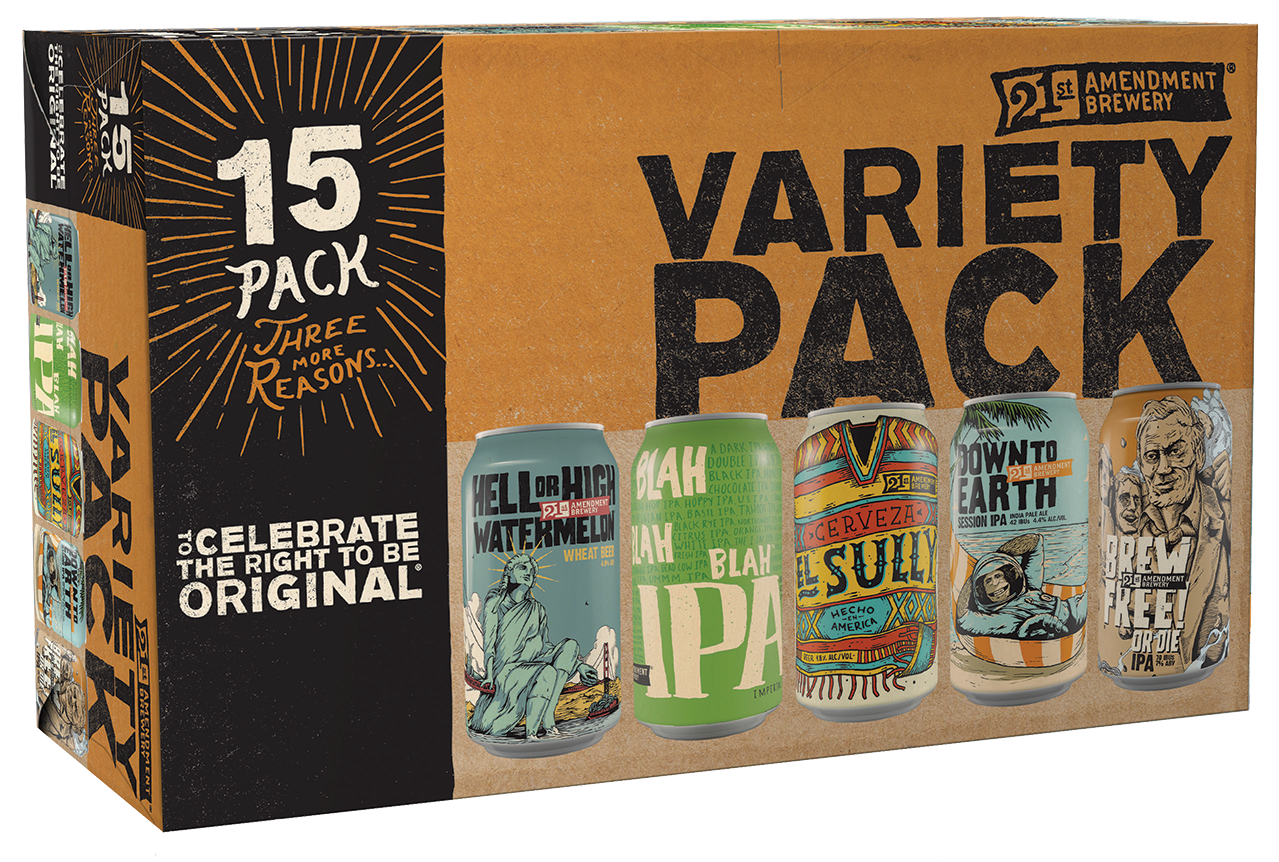 21a-variety-15pack-spring-2017  The 14 Coolest Beer Label Designs You've Ever Seen 21a variety 15pack spring 2017