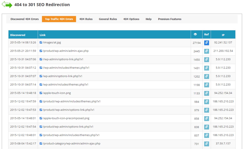 404 SEO Redirection plugin for best 404 redirect plugins WordPress