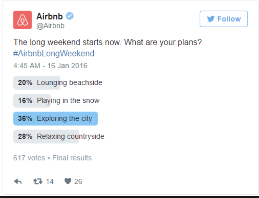 twitter poll example airbnb