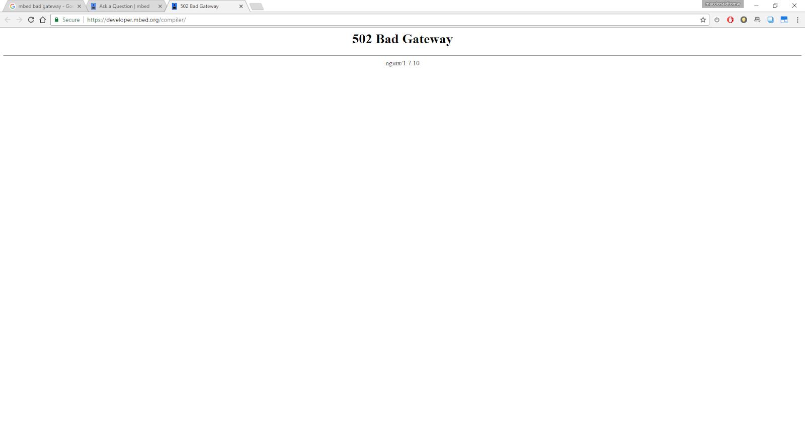 HTTP ERROR 502 NGINX - How to fix 502 Bad Gateway Error