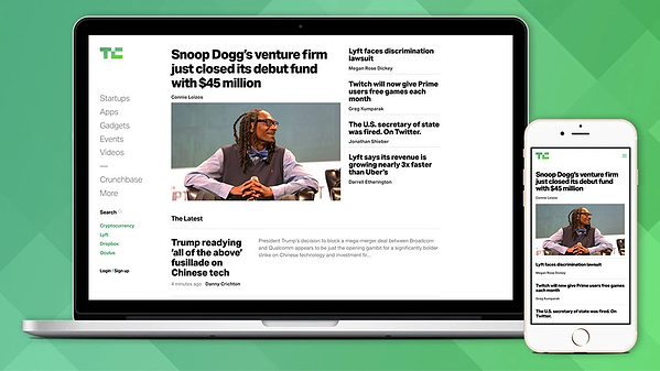 techcrunch-website-powered-by-wordpress-cms