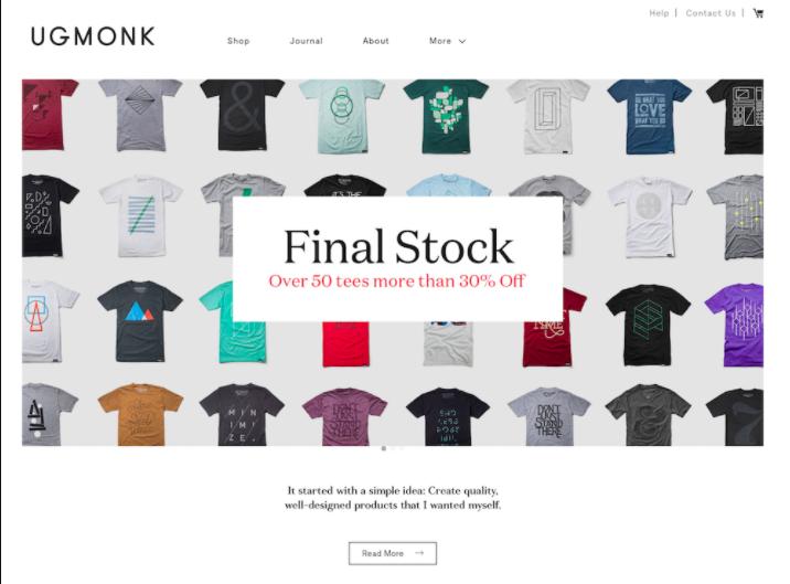 ecommerce site built on drupal alternative shopify