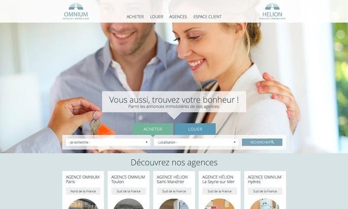 real estate website built on drupal alternative joomla