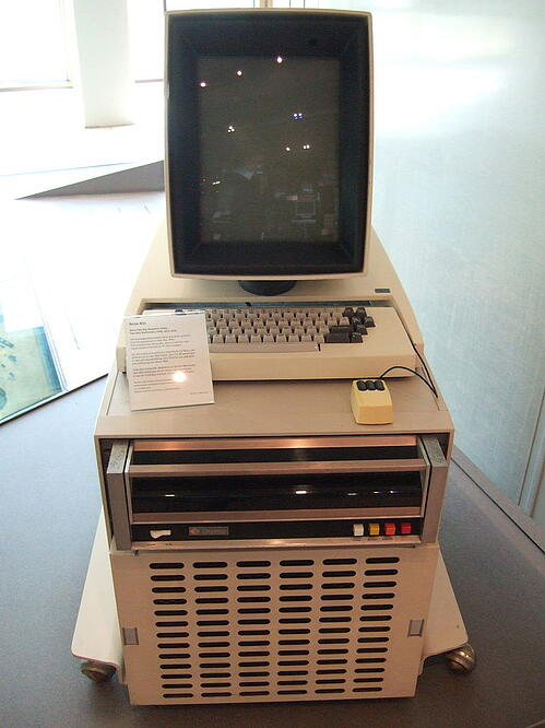 Xerox Alto, the first personal computer and enabler of the first WSIWYG editing system for developers