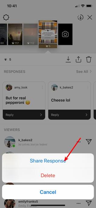 Instagram's Questions Sticker