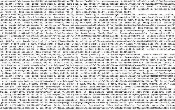 Bloated code of Wix site from official showcase