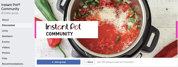 best facebook groups: instant pot