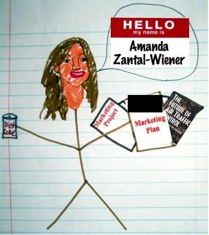 Funny illustration cover letter by Amanda Zantal-Wiener