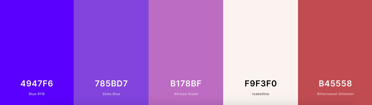 Accessible color palette with purple and pink shades-1