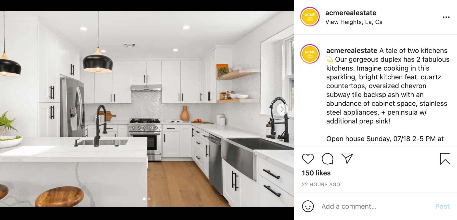 Acme Real Estate Ad