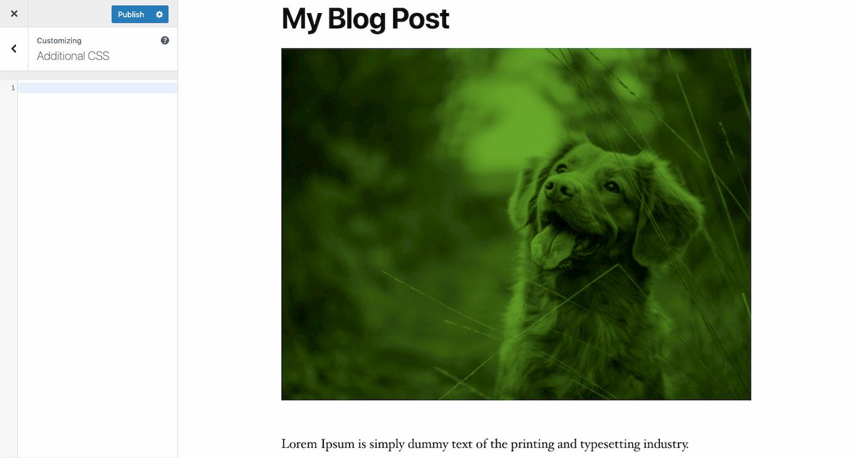 Additional CSS module in WordPress editor