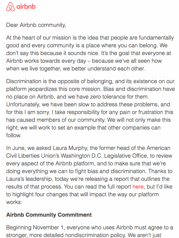 The public apology letter 6 brands that nailed it airbnbapologyg spiritdancerdesigns Image collections