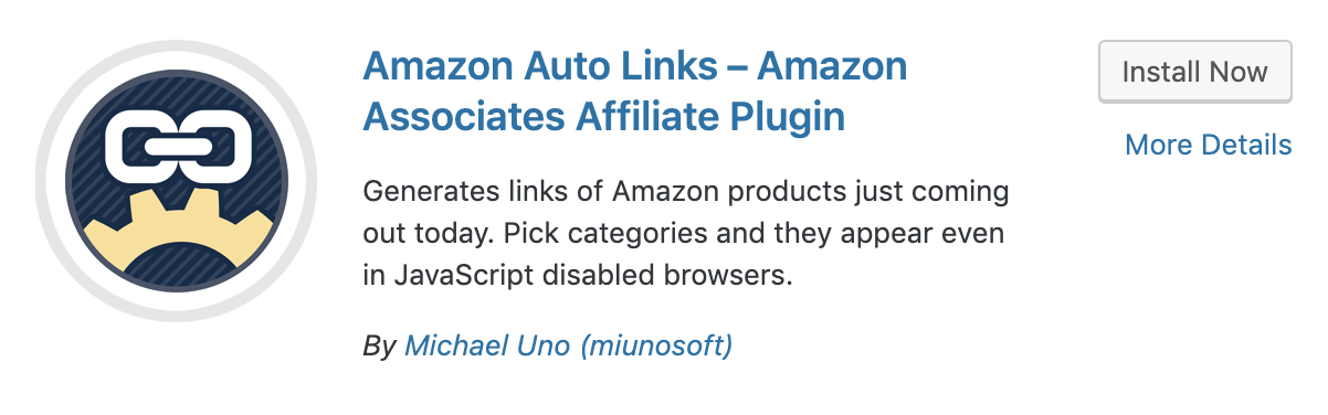 Amazon Auto Links plugin for how to add Amazon affiliate links to WordPress posts