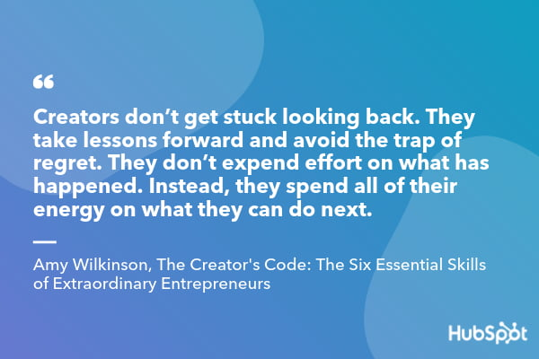 Amy Wilkinson quote from The Creator's Code_ The Six Essential Skills of Extraordinary Entrepreneurs