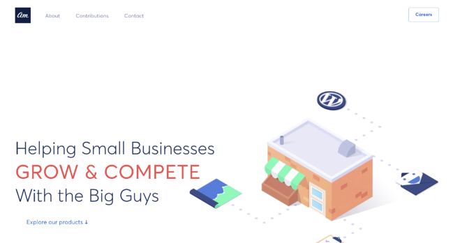 Fantastic example of a WordPress website