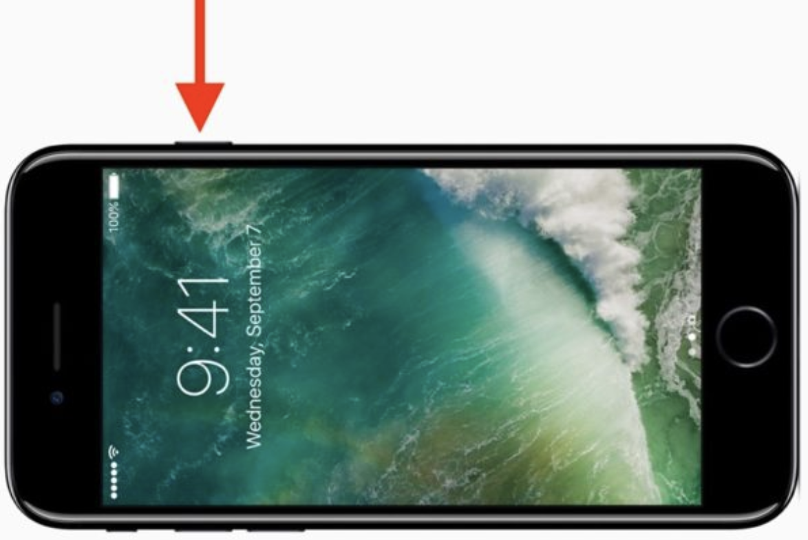 apple iphone lock button sensory branding example