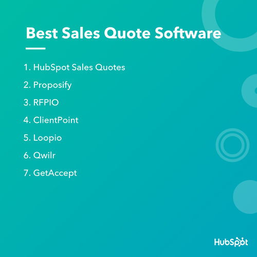 Best Sales Quote Software