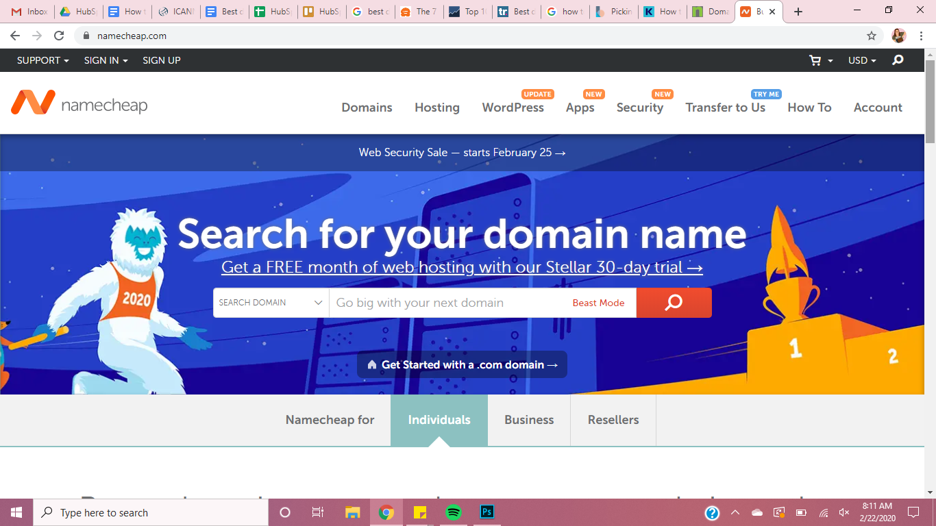 best domain registrars namecheap