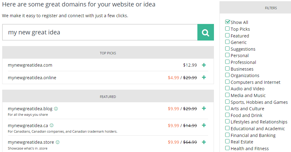 best domain registrars hover