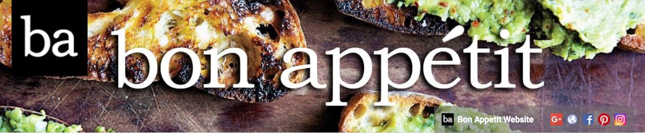 Bon Appétit's YouTube banner