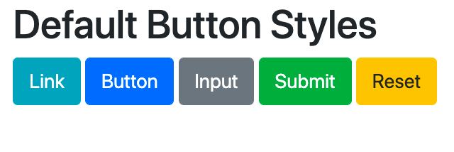 Bootstrap .btn class and modifier classes with default styles-1