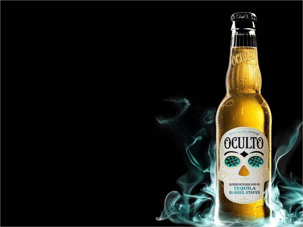 Bottle-Smoke  The 14 Coolest Beer Label Designs You've Ever Seen Bottle Smoke