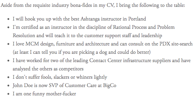 Brutally Honest.png  Example Of Great Cover Letter
