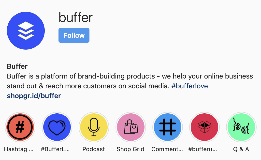 buffer on instagram hashtags