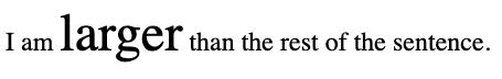 Font size CSS set in responsive unit em