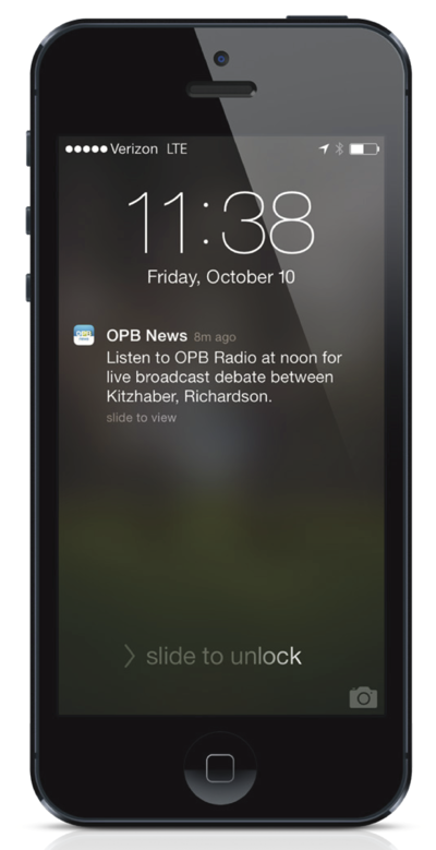 OPB Broadcast Notification