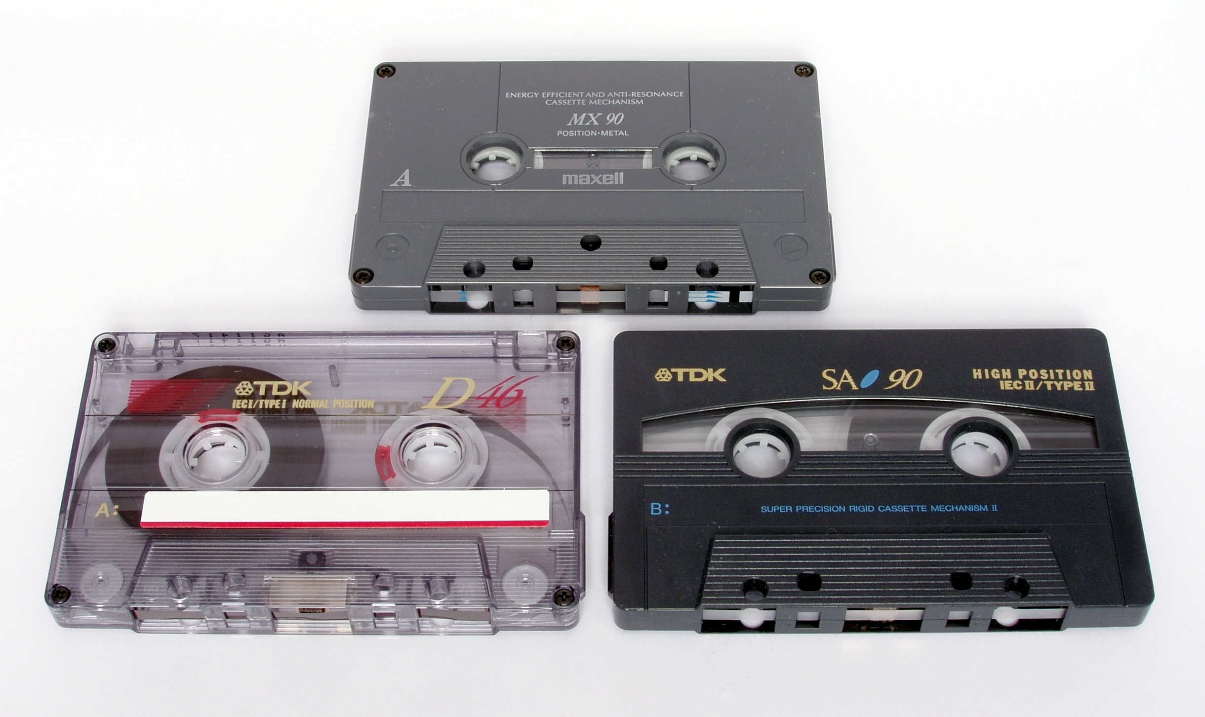 CassetteTypes1.jpg  From the Phonograph to Spotify: The History of Streaming Music CassetteTypes1