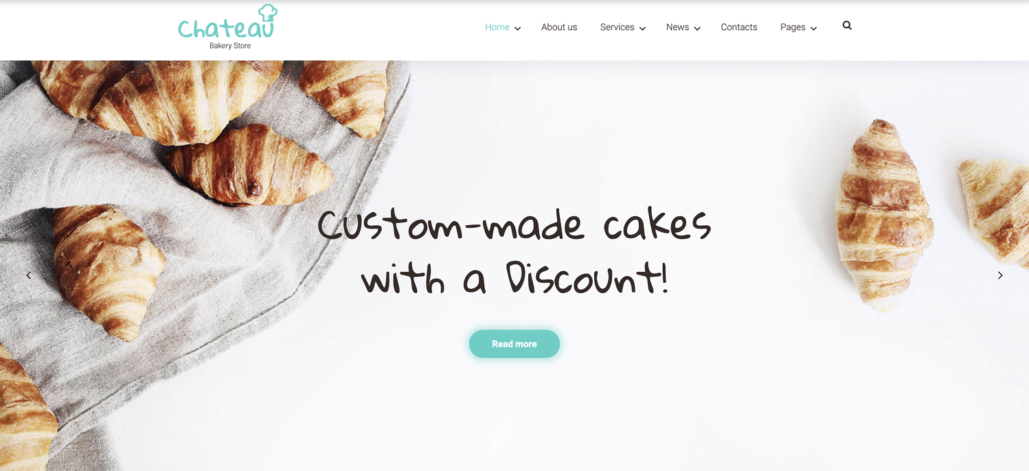 Chateau bootstrap WordPress theme TemplateMonster