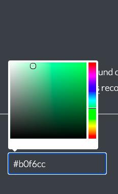 Color Safe options for a green background color