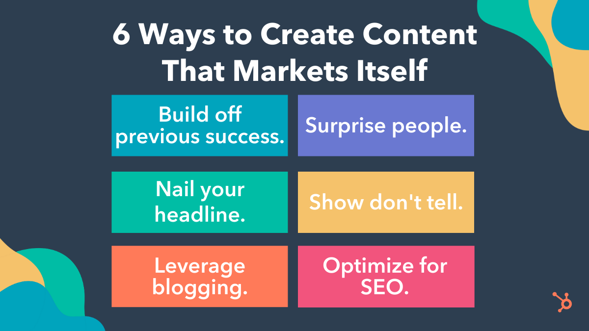 create content that spreads