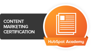 HubSpot's Content Marketing Certification
