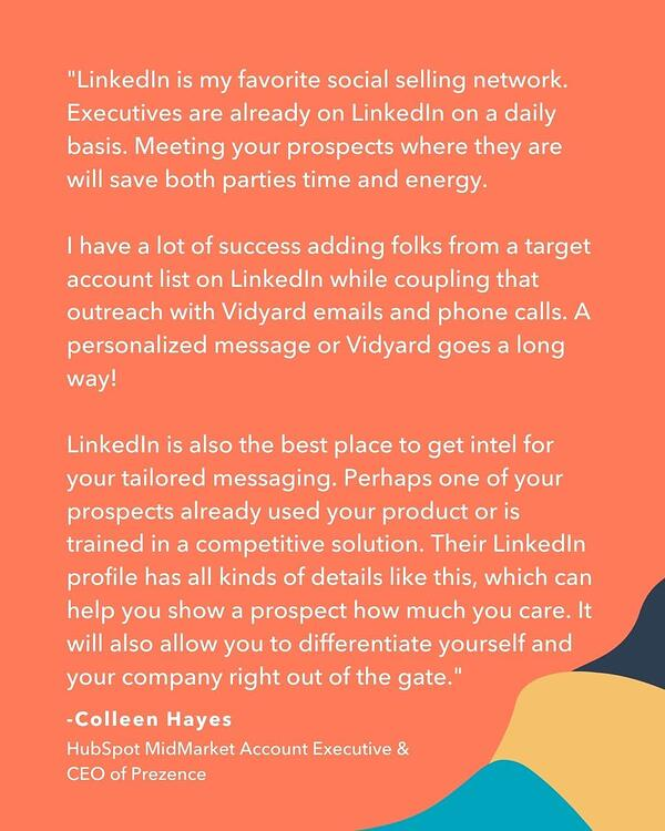 social selling and prospecting techniques and tips