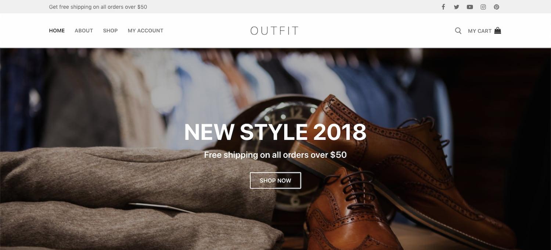 Customify theme for WordPress