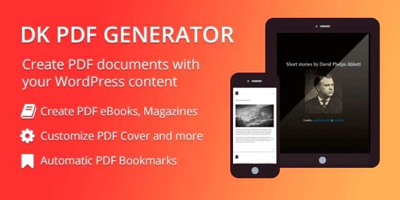 DK PDF Generator Plugin