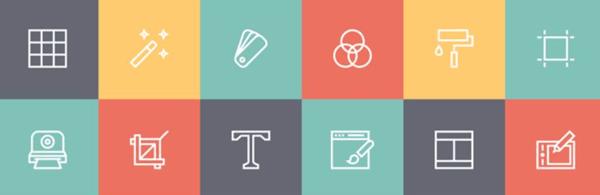Designer Line free icon set
